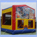 HOT Cars 2 Large Inflatable Bounce House/ 4m by 4m Jumping Castle for Rental Business