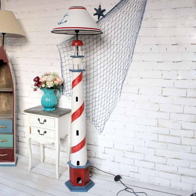 den mittelmeerraum stil stehlampe Leuchtturm heimtextilien ...
