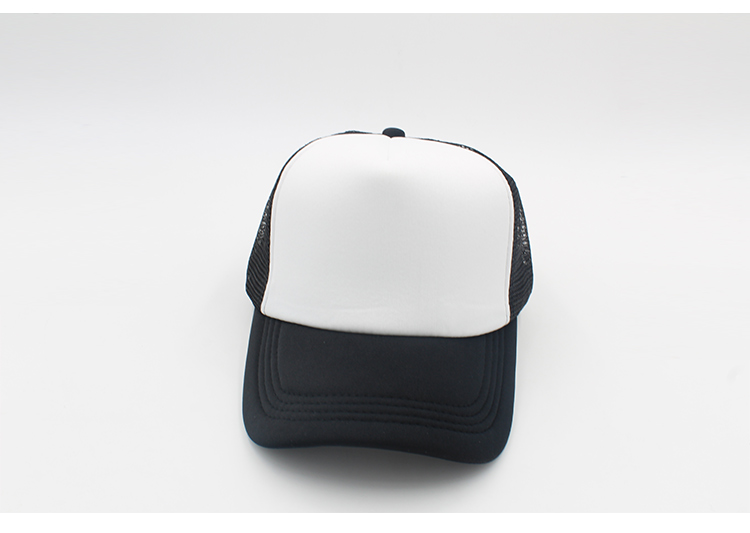 black trucker hat blank trucker hat mesh black caps trucker hat men women (7)