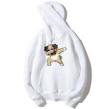 MYDBSH Funny Aminal Dabbing Dogs Hoodies Men/Women Cartoon Print Dog Sweatshirts Hoodie Man Winter Clothes Mens Casual Pullover