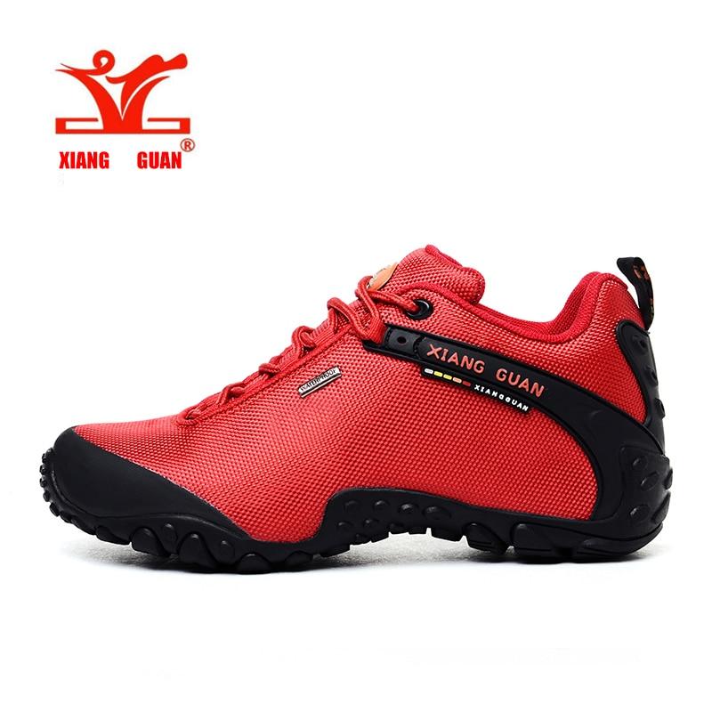 Γυναικεία αθλητικά παπούτσια πεζοπορίας αδιάβροχο αναρρίχηση ορειβάτης για θηλυκά πεζοπορία υπαίθρια αθλητικά παπούτσια ανθεκτικό στην ολίσθηση XIANGGUAN
