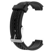 цена на Replacement Silicone Sport Watch Band Strap for Garmin Forerunner 25 GPS Running Watchband with Tool Large Size for Men