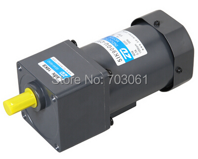 90W 50hz AC induction gear motors single-phase micro reduction motors 220v ratio 50:1 outoup speed 30rpm ac gear motor