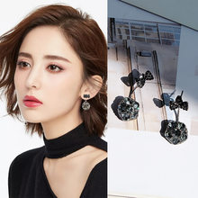 New Fashion Brincos Imitation Pearl Heart Crystal Flower Bow Leaf Angel Geometry Stud Earrings for Women Jewelry Bijoux(China)