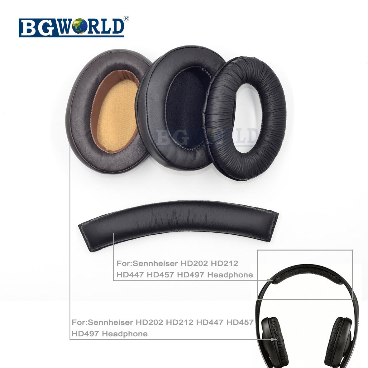 Earphone Accessories Earpad Ear Pad Earphone Soft Foam Cushion Headband Cover Head Band Replacement For Sennheiser Hd202 Hd212 Hd437 Hd447 Hd457 Hd47 Portable Audio & Video