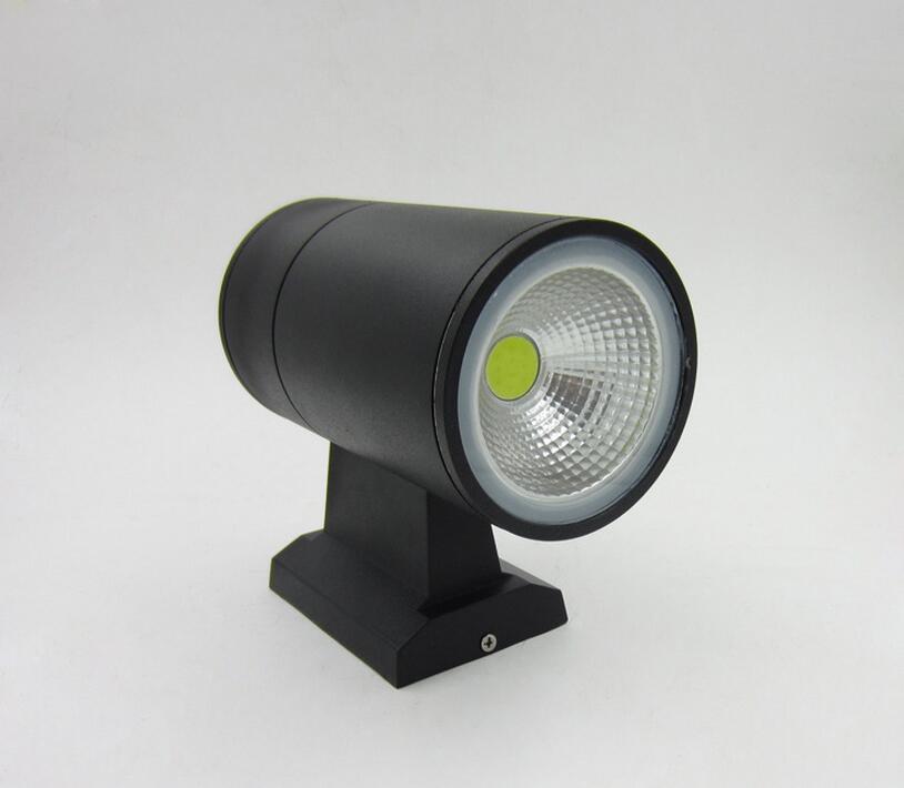 alta potencia 10w cob levou lampadas de parede ao ar livre conduziu luzes de parede pcs