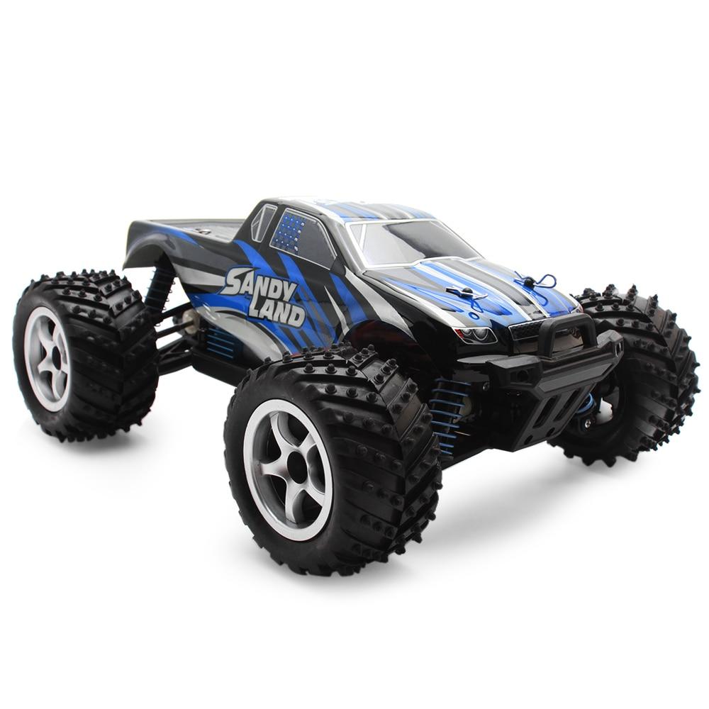 1:18 échelle RC voiture de course monstre camion RTR 40 km/H/2.4 GHz 4WD système de contrôle proportionnel complet contrôle/frein