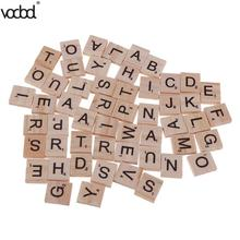 100 шт./упак. 18x20 мм блочный Алфавит 26 с картинкой «английские буквы» прессовый агрегат для удаления древесной стружки, обучающая игрушка для Язык обучения дропшиппинг