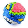 Loco Cerebro 68 MM 2x2x2 Rompecabezas de Dibujos Animados Cabeza de Cubo Mágico Irregular