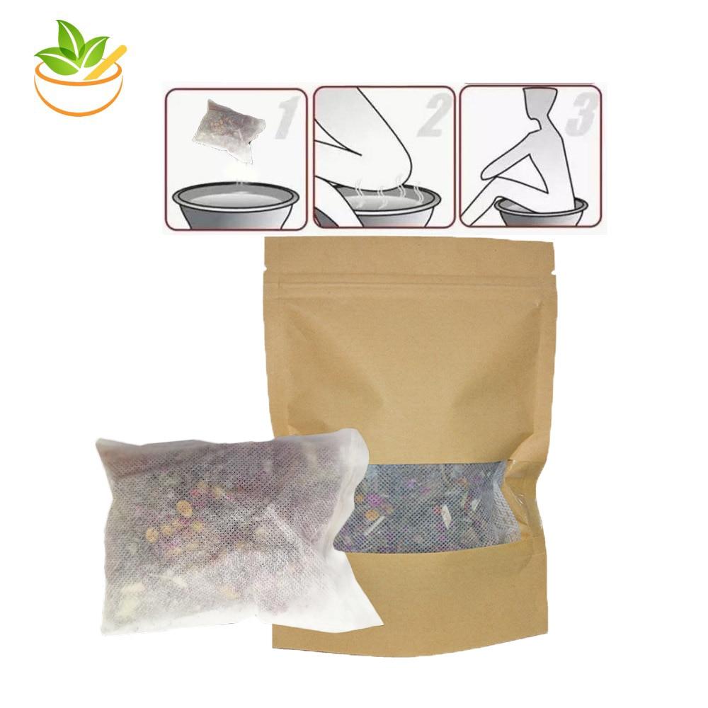 10 Packs Holistic Natural Healing Vagina Cleanse Vulva Steam Pack Yoni SPA Steam Chinese 100 Natural