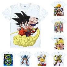 Dragon Ball Z Super Saiyajin son goku футболка Saiyan обезьяна мяч Дракон аниме на заказ Повседневная футболка для косплея футболка с короткими рукавами