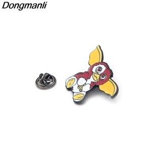 Image 3 - 30pcs/lot Wholesale DMLSKY Animal Pins Metal Badge Cartoon Kawaii Pins Icon on The Backpack Pin for Clothing M2587