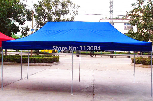 3m x 6m professional steel frame party pop up gazebo tent easy & FREE SHIPPING! 3m x 6m professional steel frame party pop up ...