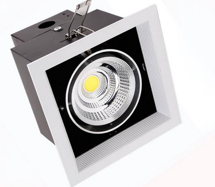 1*12W 1 Head 2 Head 2*10W COB LED Downlight all with power Driver COB LED Down Light discount chandelier Ceiling 10pcs/lot 90w led driver dc40v 2 7a high power led driver for flood light street light ip65 constant current drive power supply
