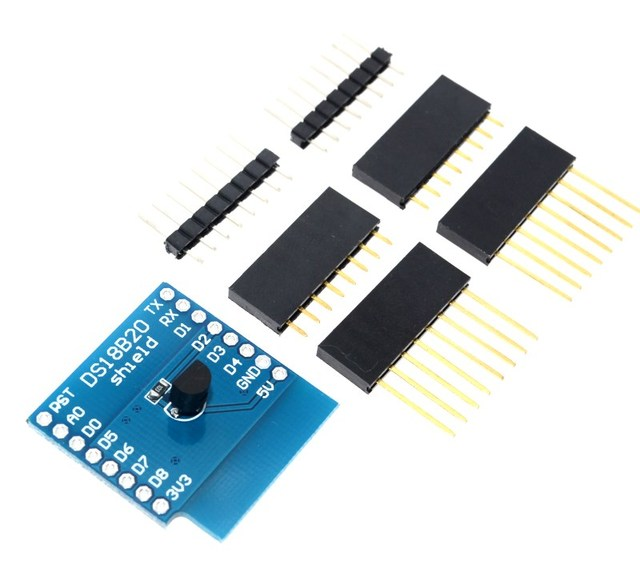 DS18B20 module For D1 MINI DS18B20 temperature measurement sensor module For d1 mini