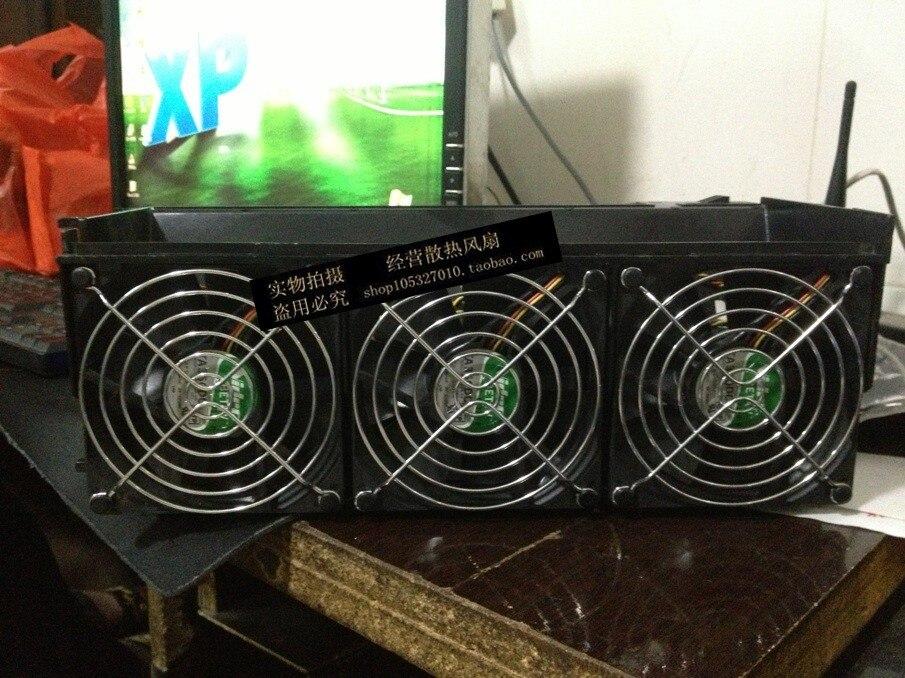 Nouveau original NIDEC TA350DC M34138-58 12 V 0.50A 9 CM 9025 90*90*25 MM ventilateur de refroidissement trois ventilateurs un groupe