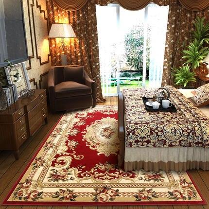 Европейский-Стиль Гостиная Кофе Таблица Ковры Спальня кровать полный пол Ковры современный простой ручной работы трехмерная Флауэ Cut