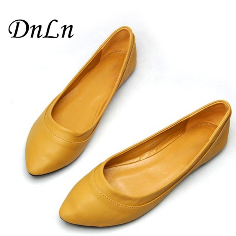 Womens Shoes Ballet Flats Ladies Flat Shoes Woman Ballerinas  Large Size 41 Casual Shoe Sapato Womens Loafers Zapatos Mujer drfargo spring summer ladies shoes ballet flats women flat shoes woman ballerinas pointed toe sapato womens waved edge loafer