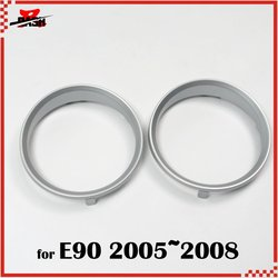 DASH for E90 Silver Cluster Gauge Rings dashboard M3 Look ABS