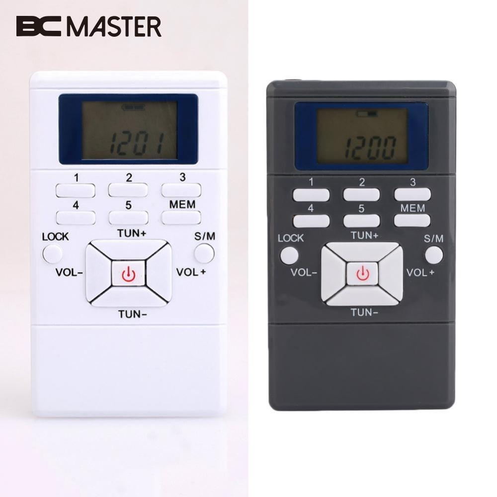 BCMaster Draagbare mini-radio Slim Pocket Persoonlijke handheld - Draagbare audio en video - Foto 2