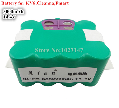 ФОТО 14.4V 3000mAh Robotics Battery for Robot 310C KV8 XR210,Cleanna XR210,Meidea M320,Zebot Z320,Kaily 310,A325 Robot Cleaner