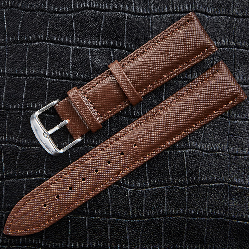 Watch Band Genuine leather Straps 14mm 16mm 18mm 20mm 22mm Fashion Man Women Watch High Quality Brown Black colors Watchbands все цены