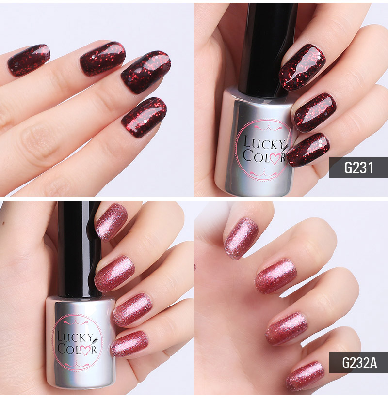 Diamond Red UV Gel Polish For Nail Art Professional LED Soak Off Gel Varnish Lacquer High Quality Free Shipping 10ml Bottle_05