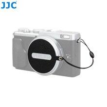 Jjcカメラレンズキャップキーパークリップ用富士フイルムx70/x100/x100s/X100Tオリジナルレンズキャップ