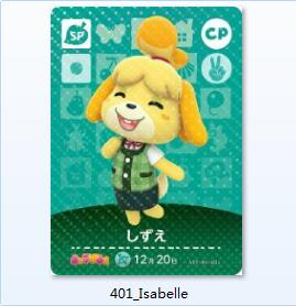 Animal Crossing Card Special Edition NTAG215 Printed NFC Card Isabelle Goldie Stitches Rosie KKSlider