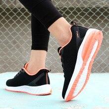 Купить с кэшбэком JINBEILEE New Fly Woven Breathable Mesh Running Shoes Women Casual Wild Outdoor Sports Trend Women's Shoes sneakers women