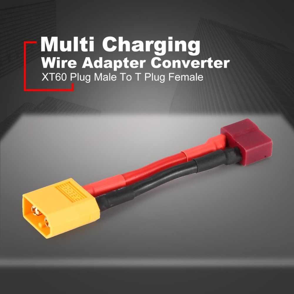 XT60 wtyk męski na T złącze żeńskie złącze Adapter kabel konwertera wielu wtyczka ładowania kabel do RC Quadcopter