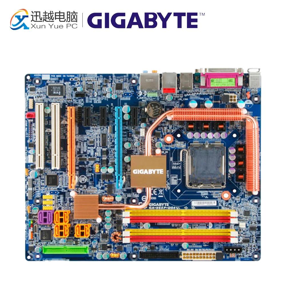 Gigabyte GA-965P-DS4 Desktop Motherboard 965P-DS4 G965 LGA 775 DDR2 ATX gigabyte ga 965p s3 desktop motherboard 965p s3 p965 lga 775 ddr2 sata2 atx