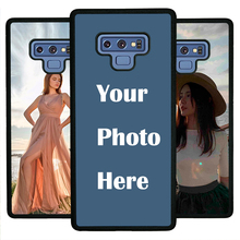 For Samsung Note9 case Custom Personalized Make your Photo pattern images Hard Body Soft Side Phone Case Cover huaweinova3 case custom personalized make your photo pattern images hard body soft side phone case cover