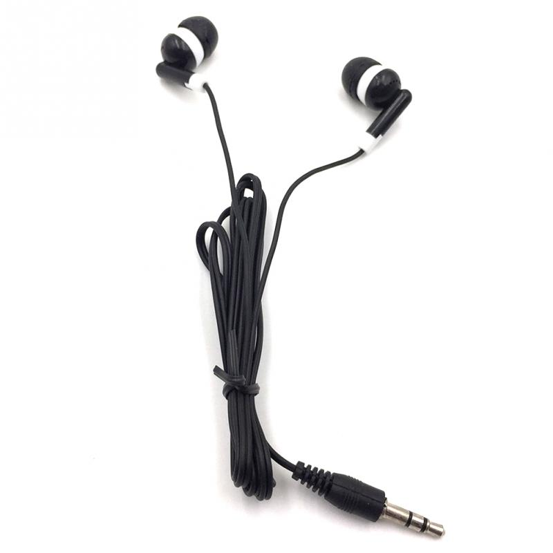 New In-ear Phone Earphone Earbuds Stereo Sport Headphone Noise Isolating Headset With Mic For Iphone Mobile Phone Universal  #2