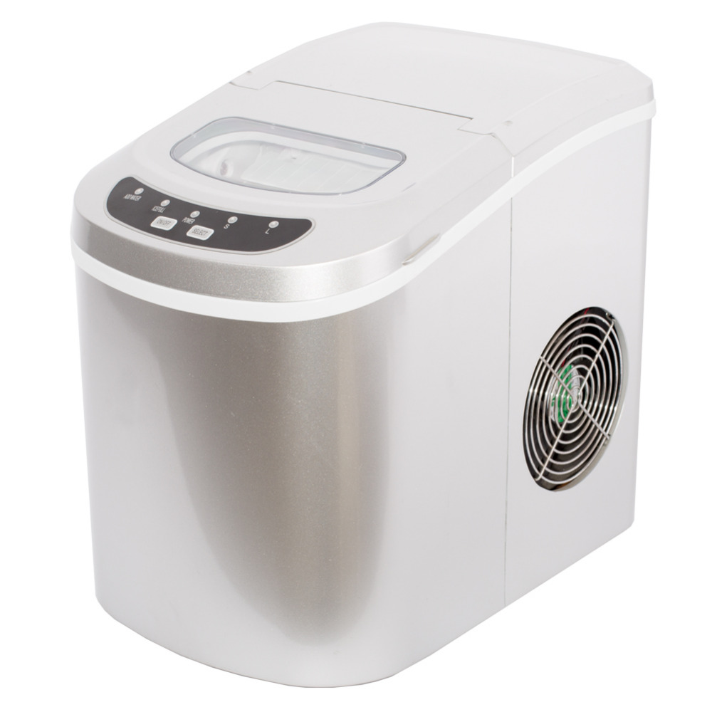 SMAD Portable Countertop Ice Cube Maker Compact Tabletop Touch Control 26 lb/day Ice Maker Machine For US mexx ice touch woman