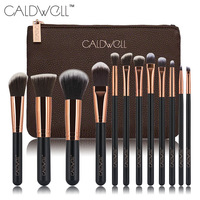12pcs Makeup Brushes Set Powder Foundation Eye Shadow Make Up Brushes High Quality Synthetic Hair With