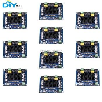 цена на 10pcs/lot DIYmall XH-M543 TPA3116D2 High Power Digital Power Audio Amplifier Board Dual Channel 2*120W
