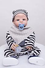 55 см Полный Силиконовые Возрождается Мальчик Кукла Игрушки Купайтесь Душ Игрушки Младенцы Reborn Куклы Рождественский Подарок Подарок На День Рождения Девочки Brinqued
