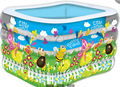 Cuatro hijos fabricantes piscina bebé piscina inflable infantil espesada baño barril