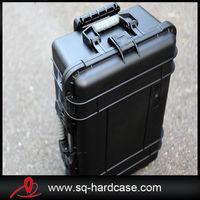 large space waterproof shockproof hard plastic equipment pull rod box