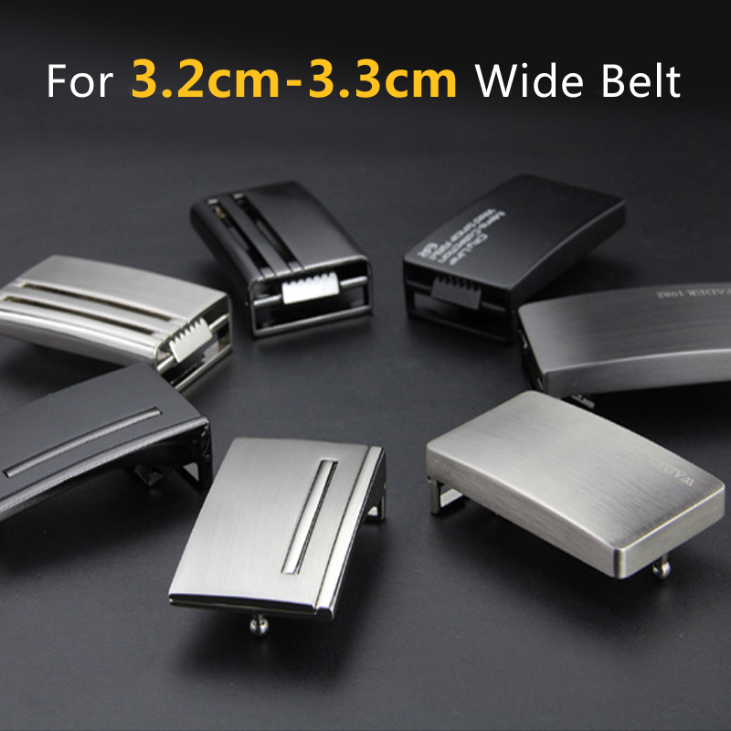 33mm Plate Belt Buckle Men's Metal Clip Buckle DIY Leather Craft Jeans Accessories Supply For 3.2cm-3.3cm Wide Belt
