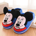 Thumbaby Fashion Winter Funny Children Slippers Kids Girls Boys Warm Shoes Cartoon Plush Slippers Home Shoes Children CHW004