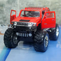 Новое KINGSMART 1/40 масштаб HUMMER H2 SUV большие колеса литья под давлением металл отступить игрушечную машинку для подарка / дети / коллекция