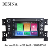 Besina Android 8 0 Two Din 7 Inch Car DVD Player For Suzuki Grand Vitara WIFI