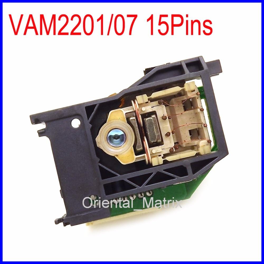Frete Grátis Nova Marca VAM2201/07/VAM-2201/07 15PIN VAM-2201 15P Lente Laser Lens Optical Pickup
