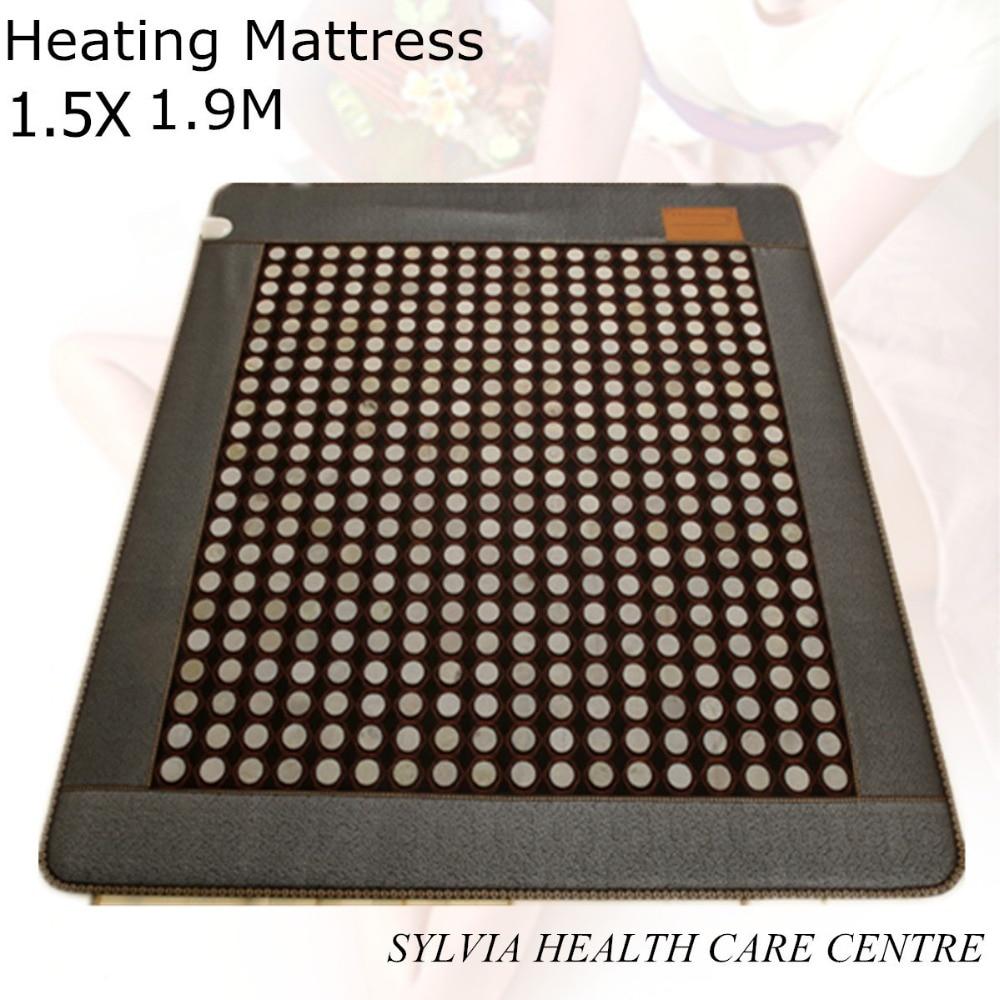 NEW HOT jade mat! Winter keep warm bed cushion jade tourmaline physical therapy health care sleep mat heat 1.5X1.9M/ 59''X74.8'' светильник asd nrlp eco 1445 14w 160 260v 4000к white 4690612004365