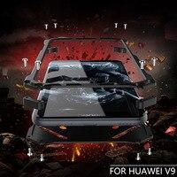 Luxury Doom Armor Dirt Shock Anti Knock Metal Aluminum Phone Bags Case For Huawei Honor 8