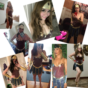 Image 4 - Wonder Woman Kostüme Halloween Kostüm für Frauen Sexy Kleid Diana Cosplay Dame Superhero Kleid Karneval Disfraz Mujer