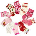 New 2016 Antiskid Baby Girl Cotton Socks Cotton Fashion Lace Casual Socks Girl All-Match Seamless Socks Kids Children 5pairs/lot
