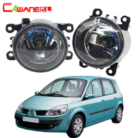Cawanerl 2 Pieces 100W H11 Car Accessories Halogen Fog Light Daytime Running Lamp DRL 12V For Renault Scenic 2003 2015